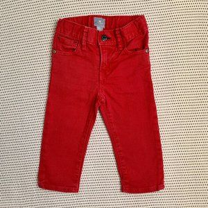 Baby Gap Red Jeans | 12-18M